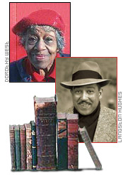 Images: Dorothy West and Langston Hughes - Photo Courtesy of: http://www.infoplease.com/spot/bhmlit1.html