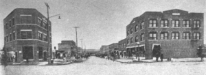 "...Called ""Black Wall Street."" Greenwood, North Tulsa c. 1917. As the Greenwood District began to emerge in the early 1900s, rigid segregation held sway. Image Credit: digital.library.okstate.edu"